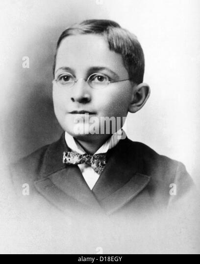 Harry Truman as a schoolboy. Ca. 1892. (CSU_ALPHA_194) CSU Archives/Everett Collection - Stock-Bilder