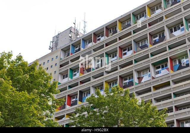 berlin corbusier haus stock photos berlin corbusier haus stock images alamy. Black Bedroom Furniture Sets. Home Design Ideas