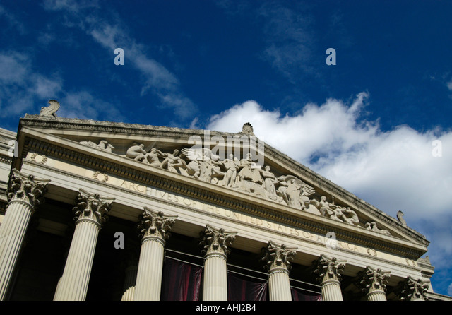 Archives of the United States of America, Washington DC USA - Stock Image