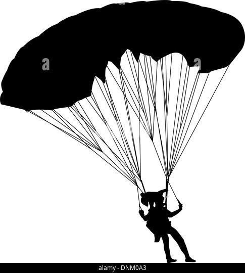 jumper, black and white silhouettes vector illustration - Stock-Bilder