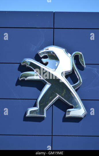 The Car Company Warsaw >> Peugeot Car Company Stock Photos & Peugeot Car Company Stock Images - Alamy