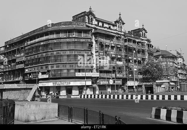 Jer Mahal mass Vasudev Balwant Phadke Chowk Mumbai India Asia Dec 2011 - Stock Image