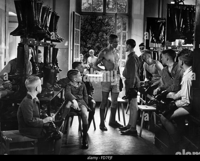 Moviestill from 'Kopf hoch, Johannes!', 1941 - Stock Image
