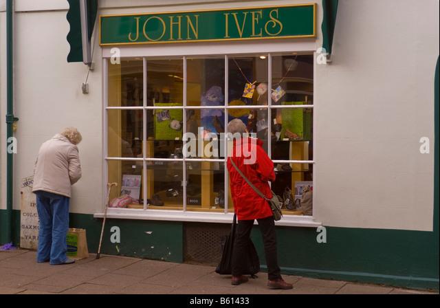 St Ives Shoe Shop Woodbridge