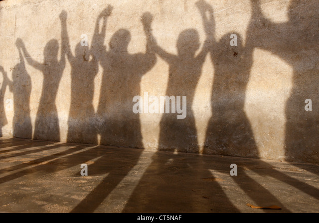GROUP OF CHILDREN - Stock-Bilder