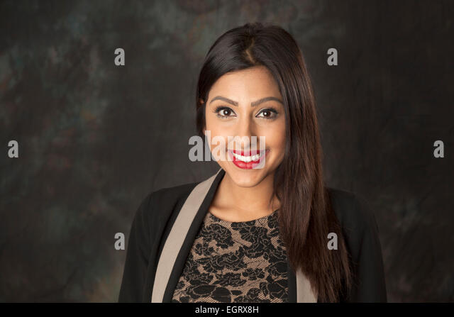 Walsall, West Midlands, UK. 1st March 2015. Monika Plaha Video Journalist at the new Big Centre TV channel. Big - Stock Image