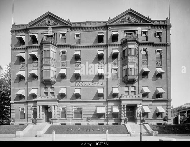 Rockingham Hotel, Portsmouth, N.H., circa 1908 - Stock Image