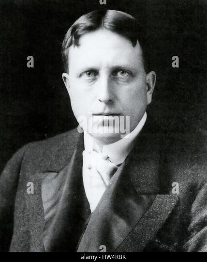 WILLIAM RANDOLPH HEARST (1863-1951) American newspaper publisher about 1906 - Stock-Bilder
