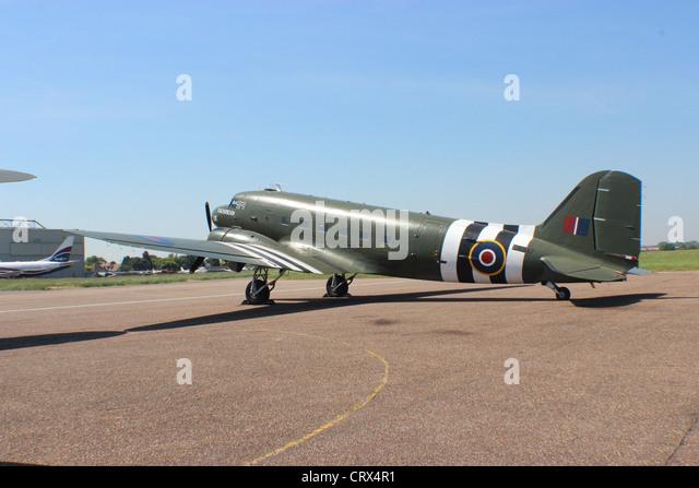BBMF Douglas C-47 Dakota - Stock Image