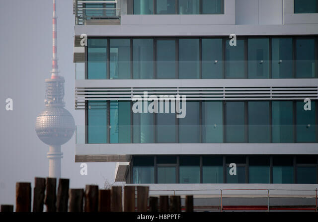 Fernsehturm, Neubau, Berlin. - Stock-Bilder