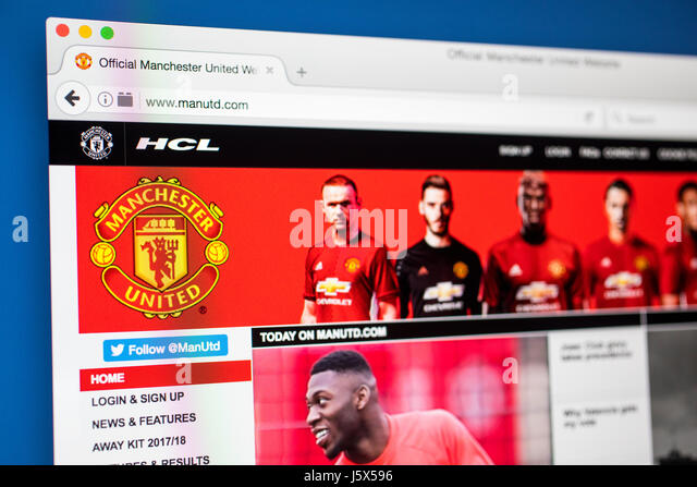 Man Utd Stock Photos & Man Utd Stock Images - Alamy