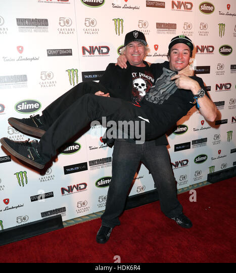 Premiere of Unchained: The Untold Story of Freestyle Motocross at Caesars Palace  Featuring: Jon Freeman, Bilko - Stock Image