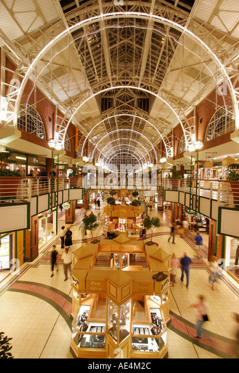 south africa cape town Victoria Albert waterfront shopping mall - Stock Image