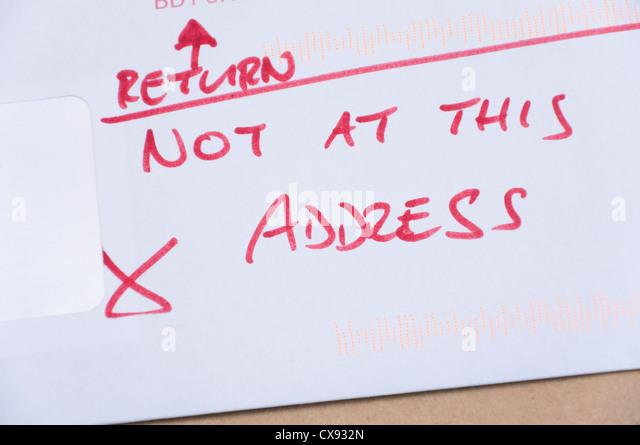 how to return to sender uk