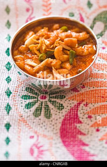 Pickled shrimp - Stock-Bilder