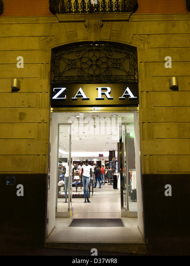 Zara stock photos zara stock images alamy - Zara home canarias ...