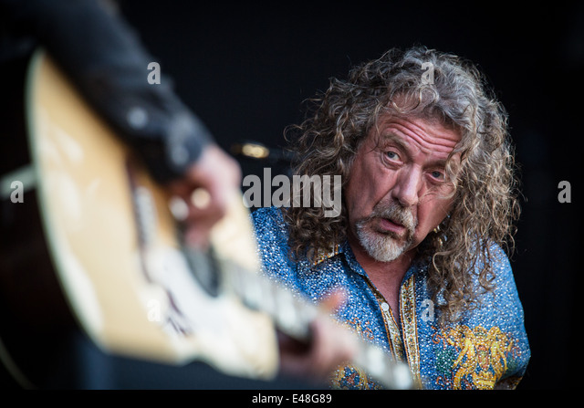 Robert Plant & The Sensational Space Shifters perform live at Pinkpop Festival 2014 in Netherlands © Roberto - Stock Image
