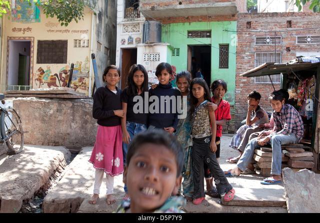 India, incredible India - Stock Image