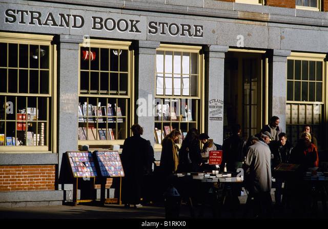 Bookstore, Strand, Manhattan, New York, USA - Stock Image