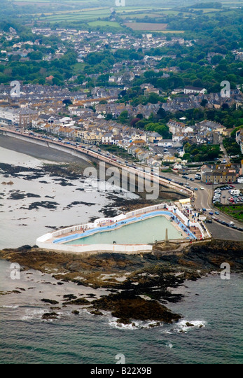Penzance Aerial View Stock Photos Penzance Aerial View Stock Images Alamy