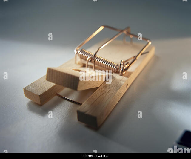 Mousetrap, tense, Still life, product photography, case, blow case, pest control - Stock Image