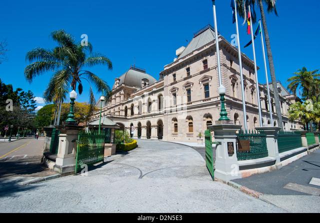 Parliament House, Brisbane, Queensland, Australia, Pacific - Stock Image