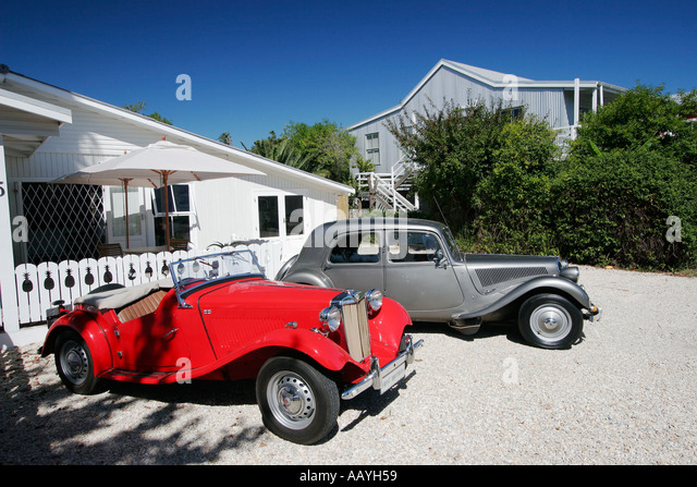 south africa garden route Knysna Oldtimer - Stock Image