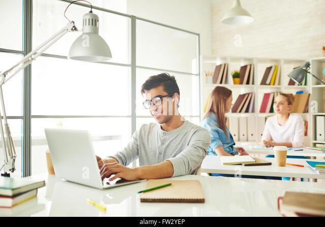 At classroom - Stock Image