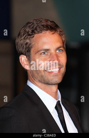 Paul Walker UK premiere of 'Fast & Furious' held at the Vue West - Arrivals London, England - 19.03.09, - Stock Image