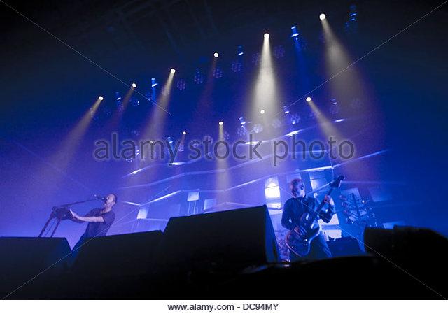 atom for peace 4 Concert 07/10/2013 - Stock-Bilder