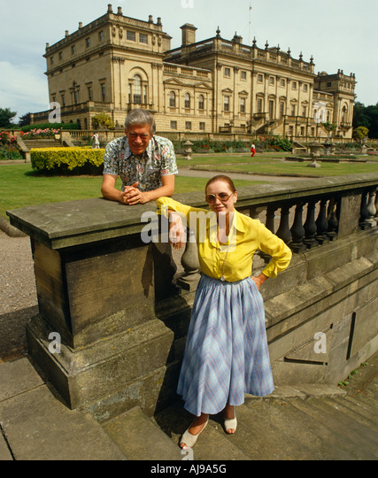 Lord & Lady Harewood - Stock Image