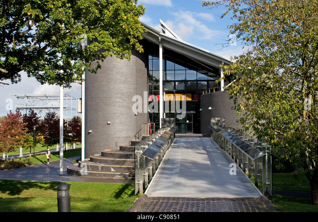 International Digital Laboratory, University of Warwick, Coventry, West Midlands, England, UK - Stock Image