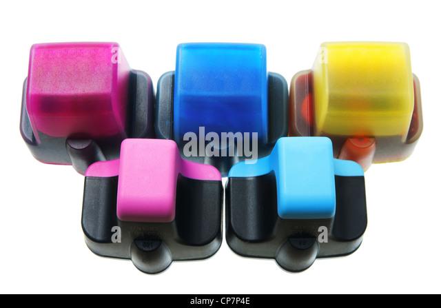 Ink Cartridges - Stock Image