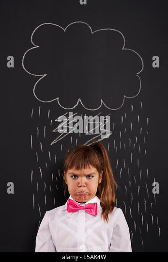 I have very bad day!, Debica, Poland. - Stock Image
