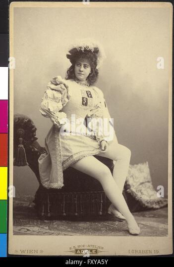 Adele Sandrock als Isabella in 'Der Fall Clémenceau' - Stock Image