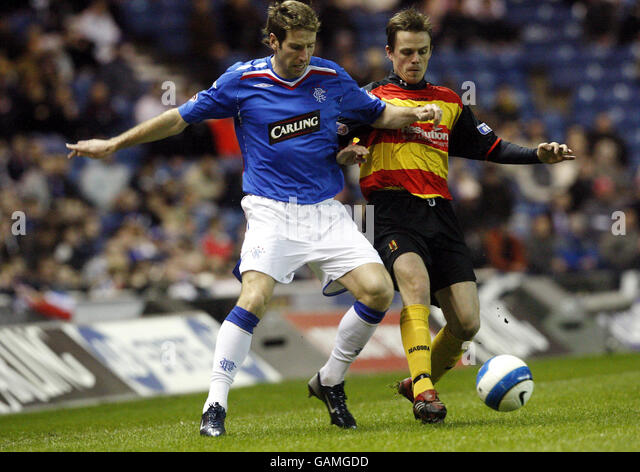 Soccer - Tennents Scottish Cup - Quarter Final - Rangers v Partick Thistle - Ibrox - Stock Image