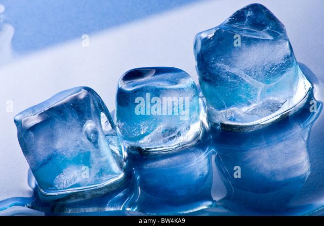 Melting Ice cubes - Stock-Bilder