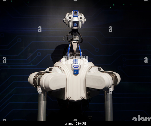 Robbie the DARPA ARM Program robot - USA - Stock Image