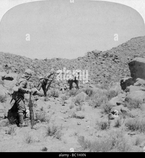 Boer War, South Africa, 1900. - Stock Image