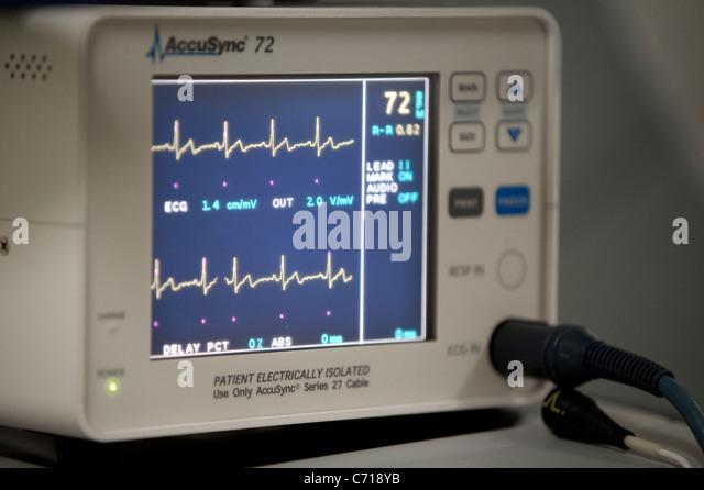 Ekg Monitor Stock Photos Amp Ekg Monitor Stock Images Alamy