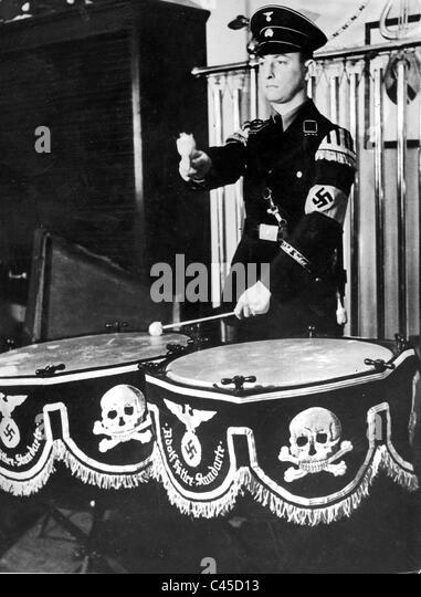 SS-drummer - Stock-Bilder