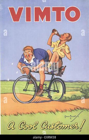 1930s UK Vimto - Stock Image