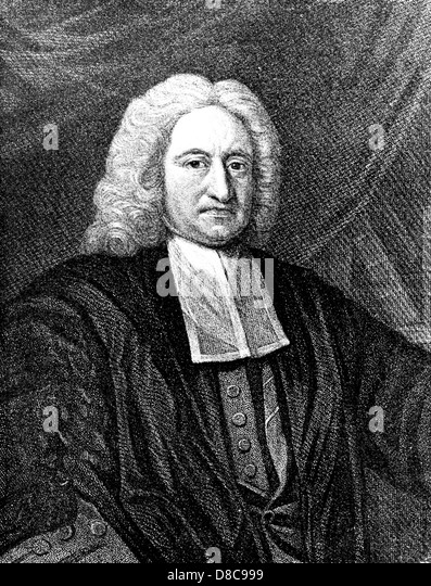 EDMUND HALLEY (1656-1742) English astronomer and mathematician - Stock Image