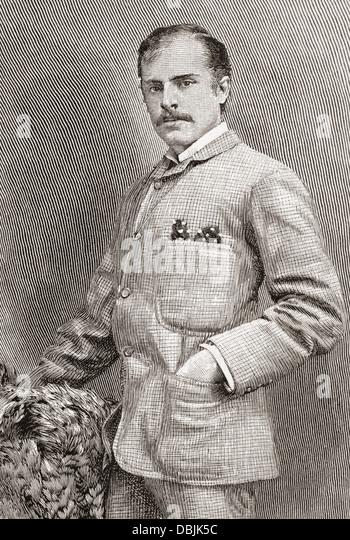 R.C. Carton, born Richard Claud Critchett, 1853 - 1928. British actor and playwright. - Stock-Bilder