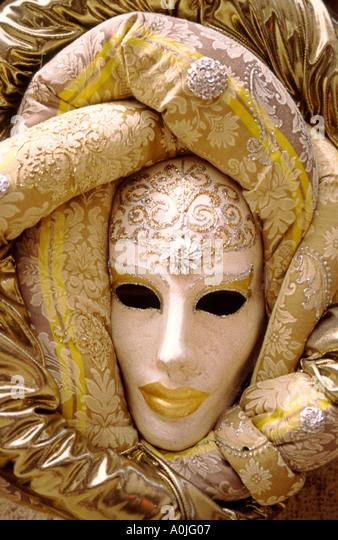 Italy Venice carnival masks - Stock Image