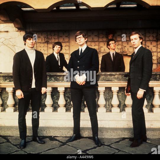 ZOMBIES UK Sixties group - Stock Image