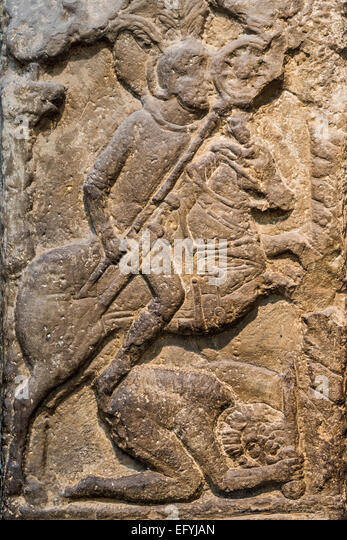 Roman stone carving stock photos
