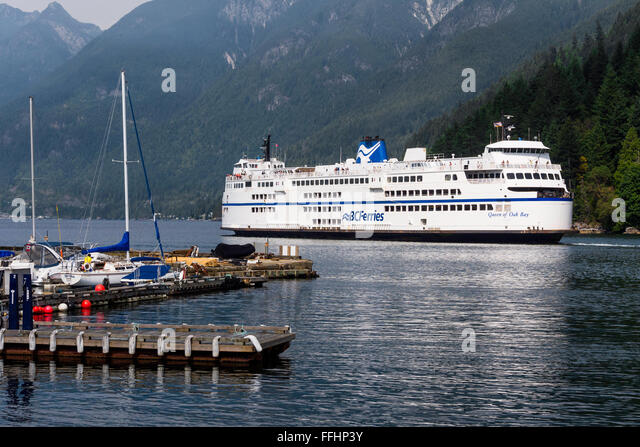 how to drive to bc ferry at horseshoe bay