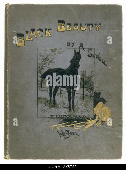 Black Beauty Book Cover ~ Black beauty book cover stock photos