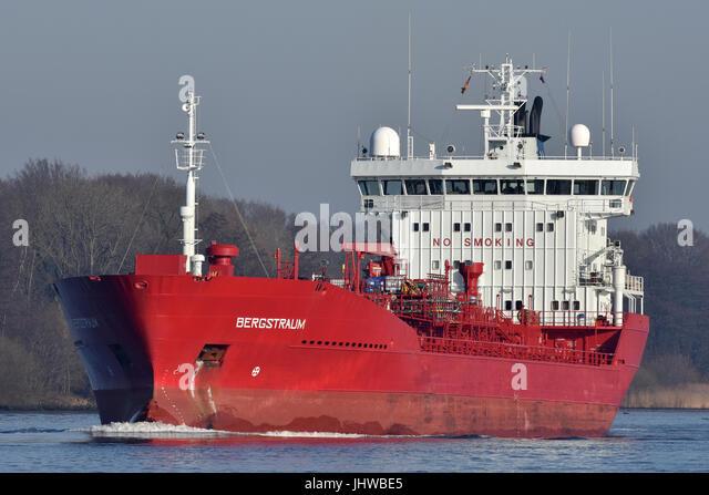Norwegian tanker Bergstraum - Stock Image